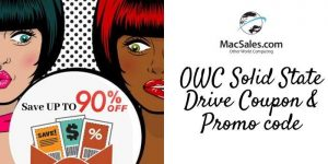 OWC Macsales Solid State Drive Coupon & Promo Code