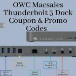 OWC Macsales Thunderbolt 3 Dock Coupon & promo code