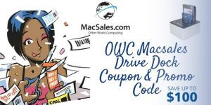 OWC Macsales drive dock coupon & promo code
