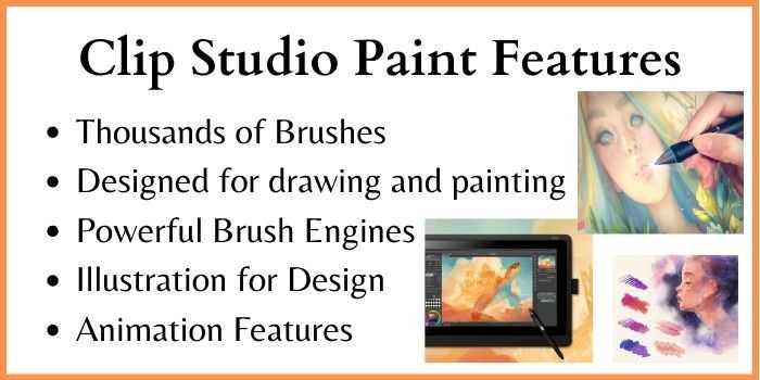 Clip Studio Paint Features