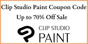 Clip Studio Paint Promo Code