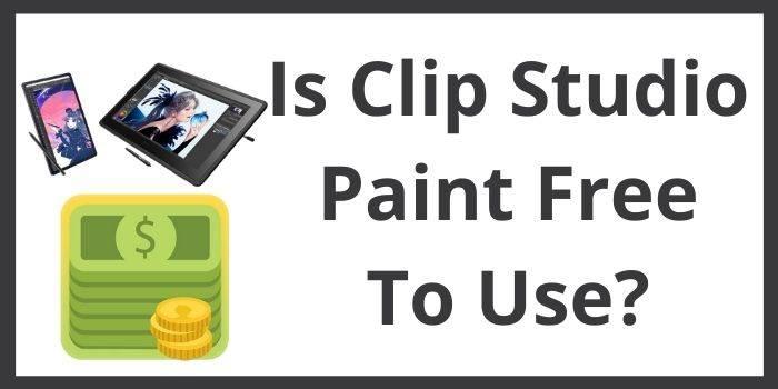 Clip Studio Paint Free